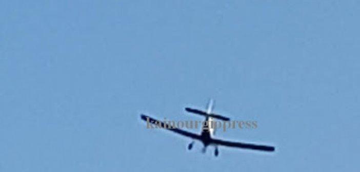 Σηκώθηκαν πυροσβεστικά αεροπλάνα για την πυρκαγιά στο Καινούργιο, μεγάλη επιχείρηση της πυροσβεστικής