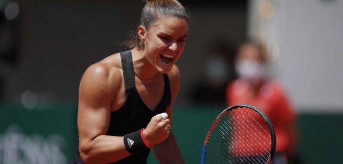 Μαρία Σάκκαρη – Ίγκα Σφιόντεκ: Ελληνική «παρέλαση» στο Roland Garros – Με σκορ 2-0 στα ημιτελικά