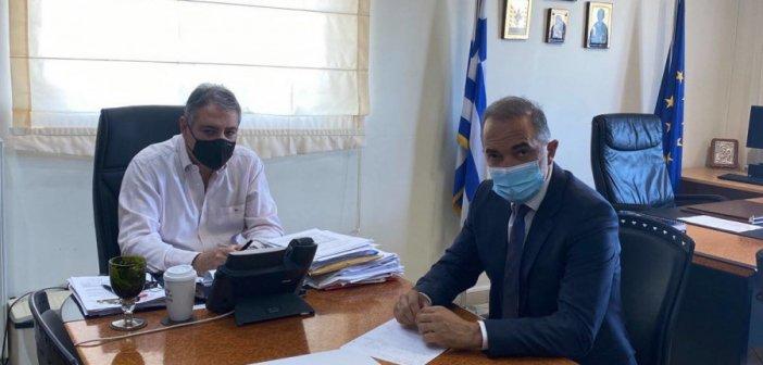 Πάτρα: Συναντήθηκαν Σαλμάς και Καρβέλης για το Νοσοκομείο Αγρινίου