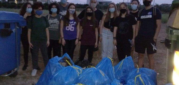 Διπλή δράση στο Αγρίνιο από Save Your Hood Agrinio – 14 εθελοντές μάζεψαν 1.750 λίτρα σκουπιδιών