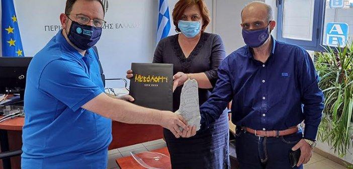 Μεσολόγγι: Γόνιμη συνάντηση με τον Αντιπεριφερειάρχη Πολιτισμού & Τουρισμού Νίκο Κοροβέση