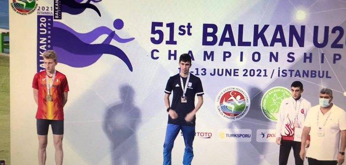 """""""ΑΓΡΙΝΙΟ ΜΠΟΡΕΙΣ"""": Συγχαρητήρια στο Νίκο Σταμούλη, έναν σπουδαίο αθλητή με προσήλωση στο στόχο του, αγωνιστικότητα κι ενθουσιασμό"""