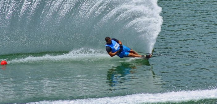 Πανελλήνιο Πρωτάθλημα Θαλασσίου Σκι στην λίμνη Στράτου