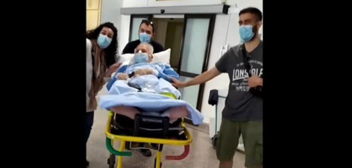 Τρεμόπουλος: Βγήκε από το νοσοκομείο μετά από 2 μήνες στη ΜΕΘ Covid-19