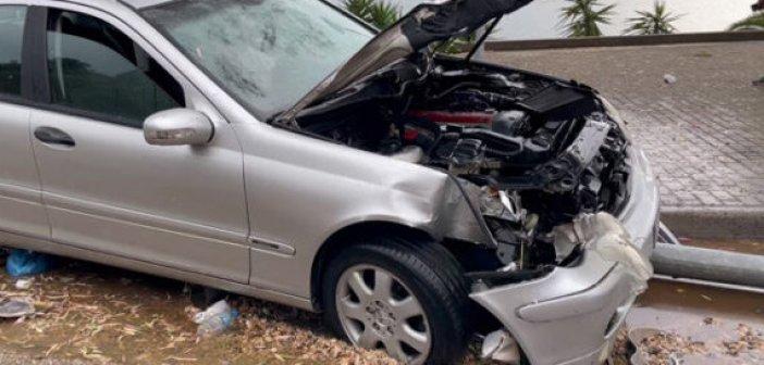 Τροχαίο ατύχημα στην Αμφιλοχία (VIDEO)