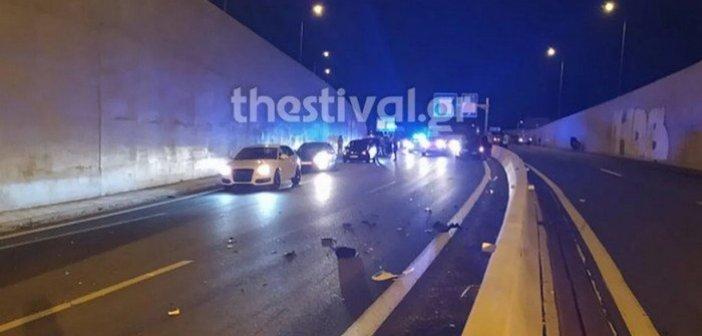 Τροχαίο – σοκ στη Θεσσαλονίκη: Νεκρός 41χρονος μοτοσικλετιστής που οδηγούσε στο αντίθετο ρεύμα (εικόνες)