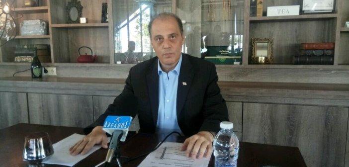 Κ. Βελόπουλος από Αγρίνιο: «Αν ήμουν υπουργός Υγείας θα ντρεπόμουν από αυτά που συμβαίνουν στο Νοσοκομείο Αγρινίου»