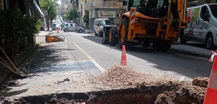 Αγρίνιο: Κλειστή η Παναγοπούλου στο ύψος της Καποδιστρίου μέχρι αύριο το μεσημέρι