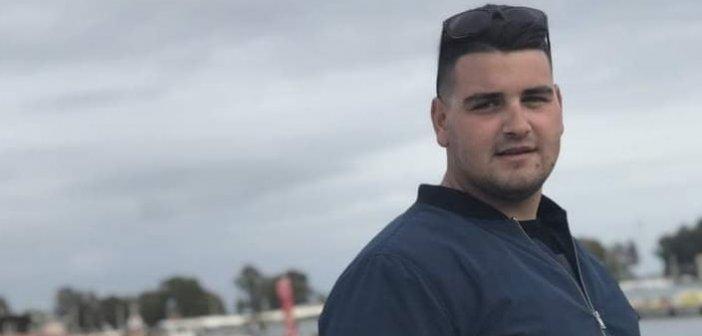 """Αγρίνιο: Βαρύ πένθος – """"Έφυγε"""" στα 25 του ο Παναγιώτης Βραχωρίτης"""