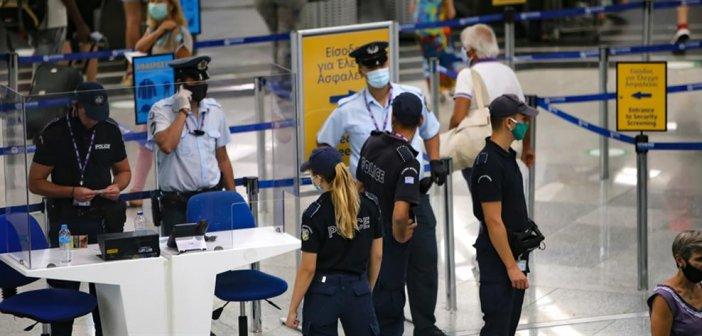 Σύλληψη αλλοδαπής στο αεροδρόμιο του Ακτίου