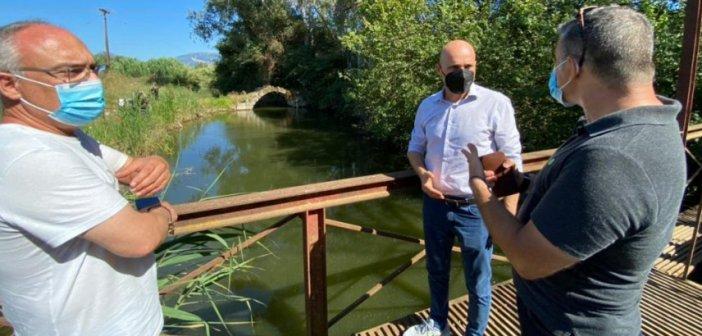 Βόνιτσα: Αυτοψία του Υφυπουργού Περιβάλλοντος στη λίμνη Βουλκαριά
