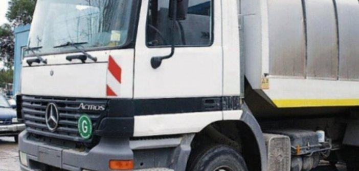 Έγκριση θέσης σε κυκλοφορία του καινούργιου απορριμματοφόρου του Δήμου Ξηρομέρου