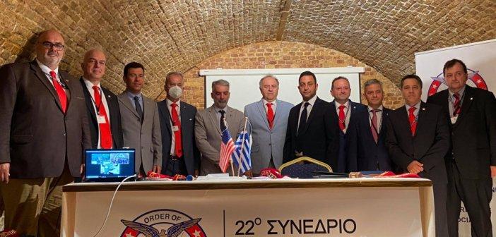 O Ναυπάκτιος Αδάμ Βλαχογιάννης ομόφωνα για 2η θητεία στο ΔΣ της AHEPA HELLAS ως Αθλητικός Διευθυντής