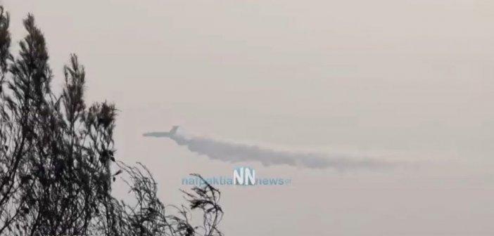 Ο Ρώσος γίγαντας Ilyushin Il-76 στη μάχη με τις φλόγες στην Αρκαδία (VIDEO)