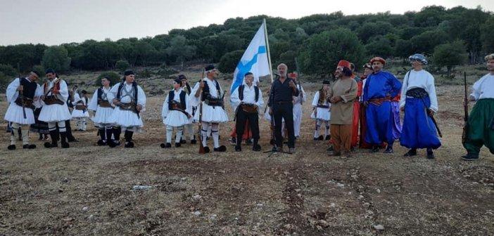Αετός Ξηρομέρου: Έγινε αναπαράσταση της ιστορικής σημασίας μάχης του Αετού!