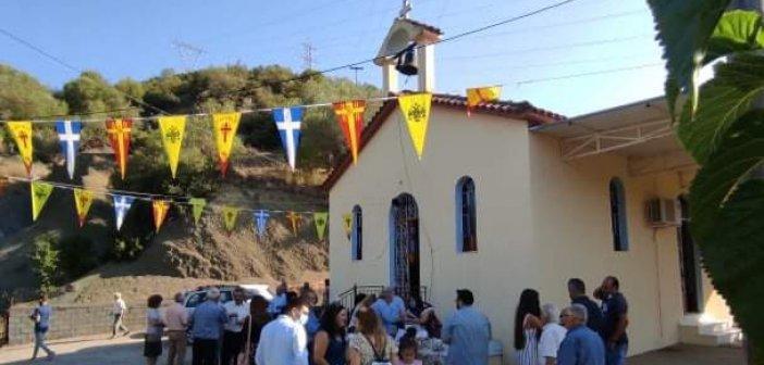 Αγρίνιο: Με λαμπρότητα γιόρτασε ο Ι.Ν. Αγίου Αλεξάνδρου στη Φραγκόσκαλα Σαργιάδας (εικόνες)