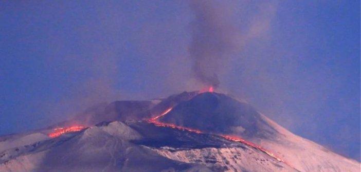Ιταλία: Το ηφαίστειο της Αίτνας «ψήλωσε» κατά 30 μέτρα μέσα σε ένα εξάμηνο
