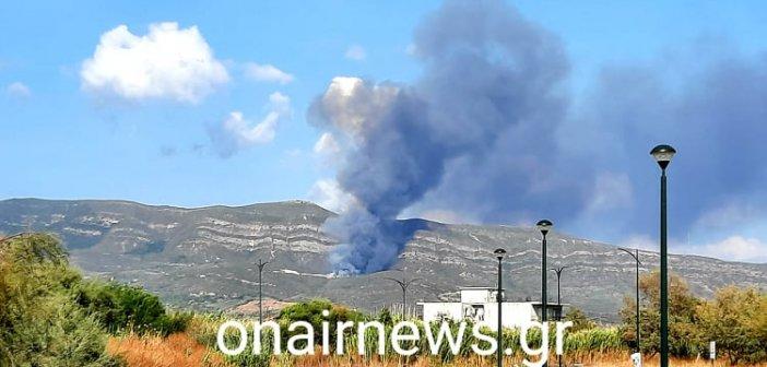 Μεσολόγγι: Φωτιά στον ΧΥΤΑ
