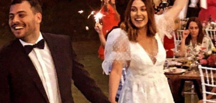 Παντρεύτηκε η ηθοποιός Ειρήνη Φαναριώτη τον Κωνσταντίνο Νταλακούρα στο Αγρίνιο (φωτό)