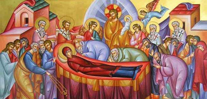 Υπεραγία Θεοτόκος: Πεθαίνοντας, ανασταίνεται και ζει αιώνια με τον Υιό της