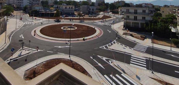 Αγρίνιο: Στην κυκλοφορία ο κόμβος στην είσοδο της πόλης – Άλλαξε όψη η περιοχή