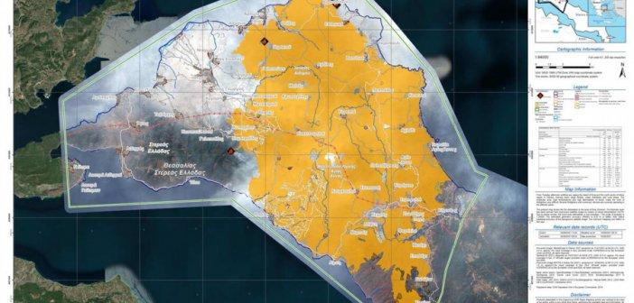 Φωτιά στην Εύβοια: Αποκαρδιωτική εικόνα του Κοπέρνικου από την καμμένη έκταση