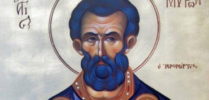 Σήμερα τιμάται ο Άγιος Μύρων