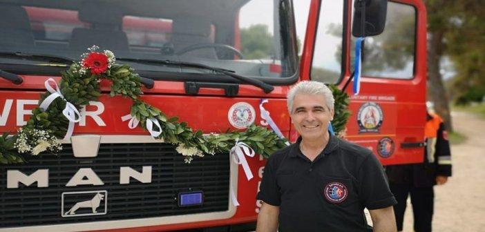 Νίκος Μίχος, εθελοντής πυροσβέστης στηΓερμανία: Οι Γερμανοί πυροσβέστες στην Ελλάδα με την καρδιά τους