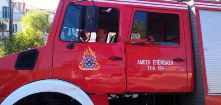 Κινητοποίηση της Πυροσβεστικής Υπηρεσίας Αμφιλοχίας για φωτιά στο Καραϊσκάκη Ξηρομέρου