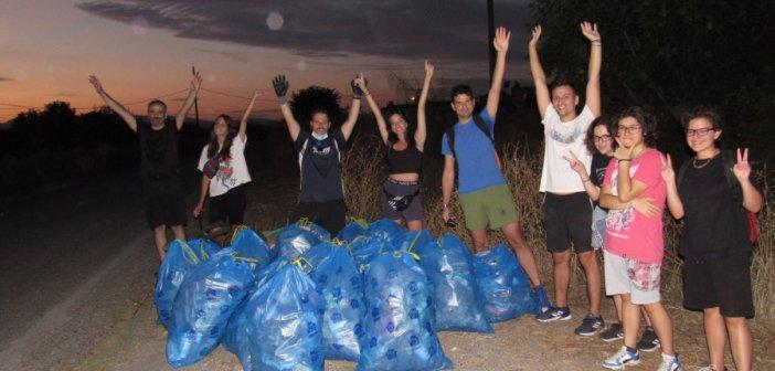 Αγρίνιο – Save Your Hood: Η εθελοντική ομάδα που ανταποκρίθηκε στο κάλεσμα μάζεψε τα σκουπίδια στο Δοκίμι (ΦΩΤΟ)
