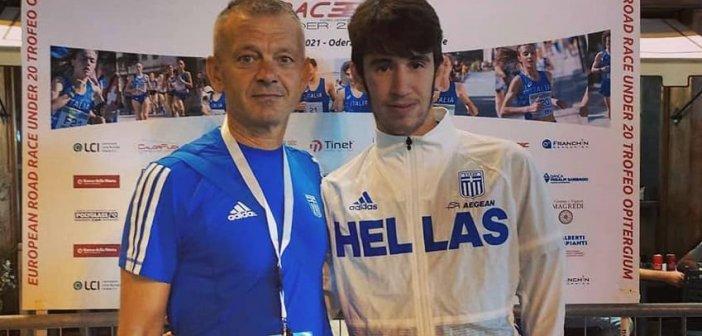 Σημαντική διάκριση για τον πρωταθλητή Νίκο Σταμούλη