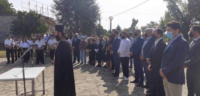 Τιμήθηκε η μνήμη του αγωνιστή Μήτσου Βλάχου στην Κυψέλη Αγρινίου