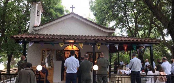 Αγρίνιο: Γιορτάστηκε με λαμπρότητα η Γέννηση της Θεοτόκου στο ομώνυμο εκκλησάκι του στρατιωτικού αεροδρομίου (εικόνες)