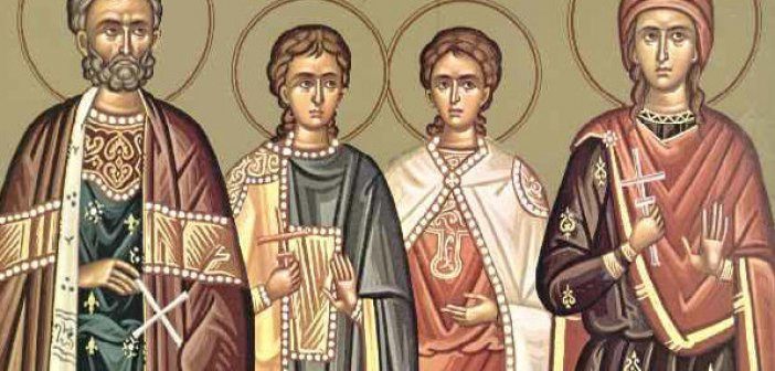 Σήμερα 20 Σεπτεμβρίου τιμώνται ο Άγιος Ευστάθιος και η συνοδεία του