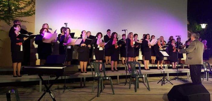 Η Μικτή Χορωδία Καλυβίων & Σταμνάς στο 2ο Φεστιβάλ Χορωδιών Αγρινίου