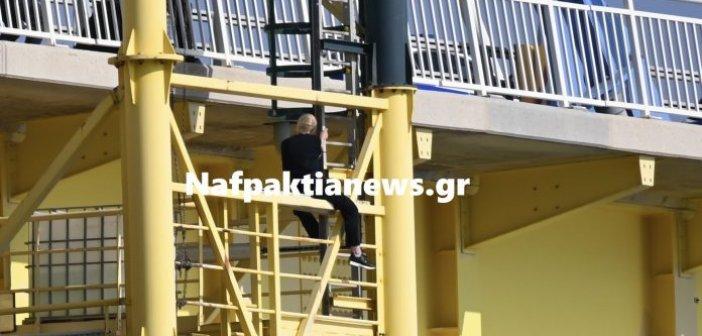 Αντίρριο: Αίσιο τέλος είχε η περιπέτεια της γυναίκας που απειλούσε να πέσει από την Γέφυρα