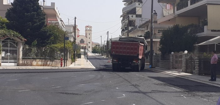 Αγρίνιο: Εργασίες ανάπλασης στην Αγία Βαρβάρα (εικόνες)