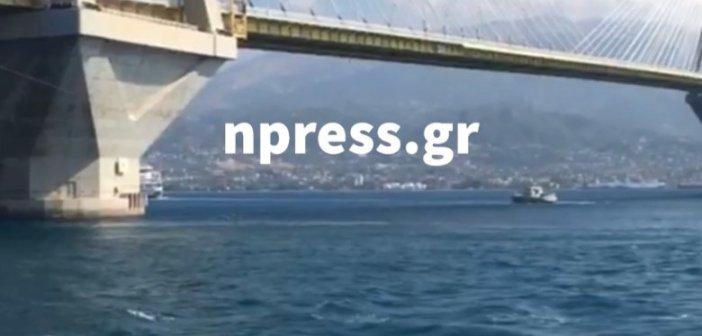 Γέφυρα Ρίου – Αντιρρίου: Γυναίκα απειλεί να αυτοκτονήσει (βίντεο)