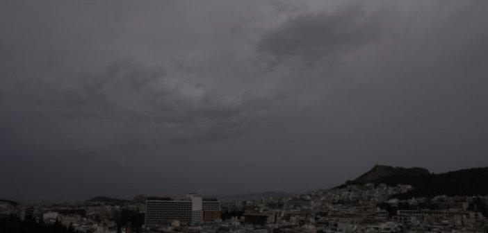 Καιρός – Βροχές με ισχυρούς ανέμους και πτώση της θερμοκρασίας – Πού θα εκδηλωθούν καταιγίδες