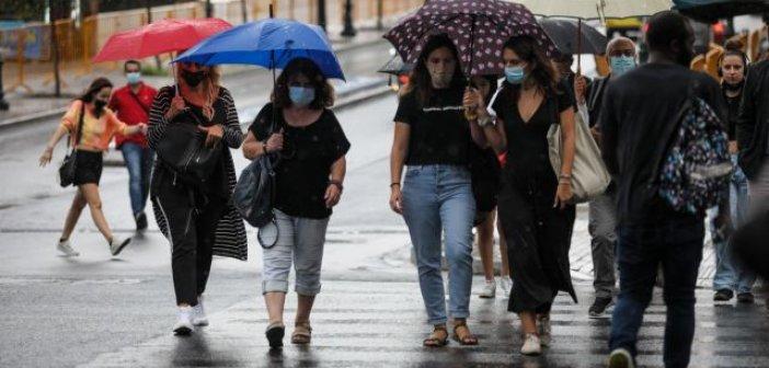 Καιρός – Βροχές στο μεγαλύτερο μέρος της χώρας