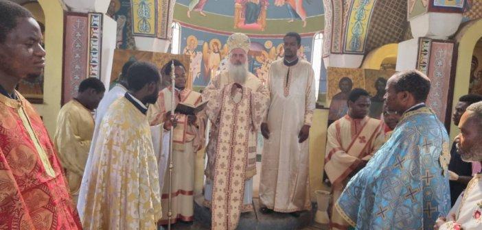 Χειροτονία πρεσβυτέρου στην Ιερά Μητρόπολη Κανάγκας