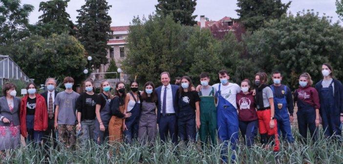 Σπ. Λιβανός: Υπόδειγμα για την αγροτική εκπαίδευση η Αμερικανική Γεωργική Σχολή Θεσσαλονίκης