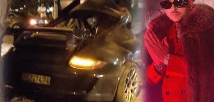 Mad Clip: Νεκρός σε τροχαίο ο γνωστός ράπερ – Άμορφη μάζα το αυτοκινήτό του