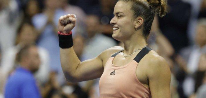 Μαρία Σάκκαρη – Καρολίνα Πλίσκοβα 2-0: Σαν «σίφουνας» στους «4» του US Open