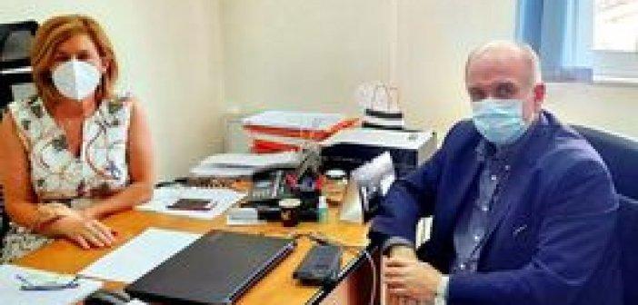 Νέα συνάντηση του Κώστα Λύρου με την διοικήτρια του Νοσοκομείου Μεσολογγίου