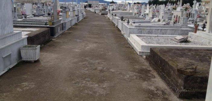 Αγρίνιο: Αποτρόπαιο θέαμα στο νεκροταφείο – Νεκρός κύλος σε λίμνη αίματος (Προσοχή: σκληρές εικόνες)