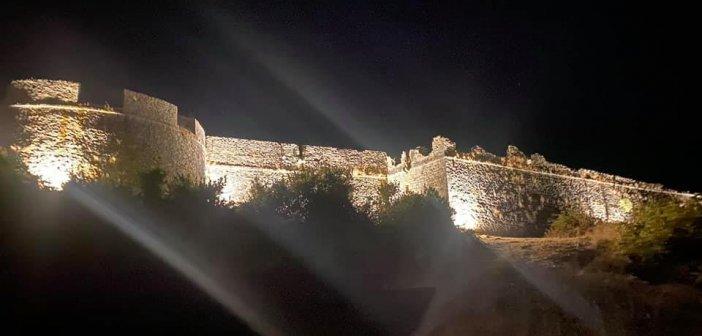 Δήμος Ακτίου – Βόνιτσας: Βγήκε από το σκοτάδι το κάστρο στην Πλαγιά απέναντι από τη Λευκάδα