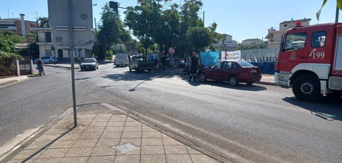 """Αγρίνιο: Παράσυρση πεζού στον κόμβο """"Πλατανάκι"""" (ΦΩΤΟ)"""