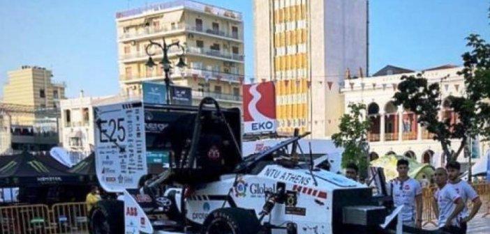 Πάτρα: Τροχαίο στους αγώνες καρτ – Το όχημα του πανεπιστημίου έφυγε από την πίστα