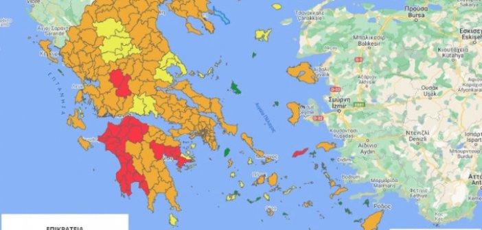 Κορωνοϊός: Προς μίνι lockdown Ευρυτανία και Αργολίδα – Ποιες περιοχές βρίσκονται στο «κόκκινο»